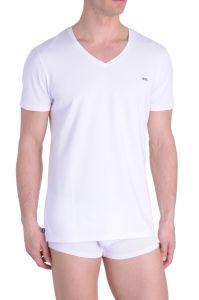 Diesel V-Shirt Michael Wit Katoen