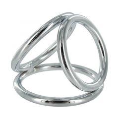 RVS Cock en Ball Ring Triad