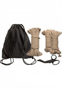 Kink Bind & Tie Initiation Kit - 5-delige bondagekit