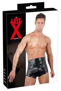Latex Boxershort Met Hoge Taille