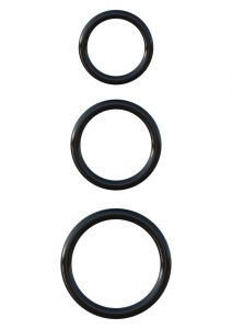 Silicone 3-Ring Stamina Set