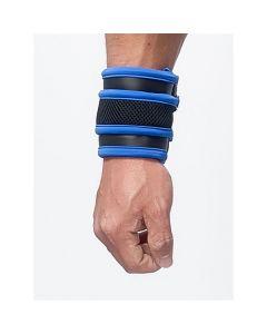 Mister B Neoprene Wrist Wallet - Blauw