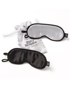 50 Shades No Peeking Twin Blindfold Set