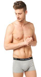 Tom Tailor Multipack Long Boxers Navy-Melange