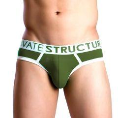 Private Structure Mini Slip Army Green