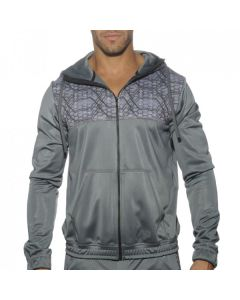 Addicted Geometrtix Sweatshirt Silver
