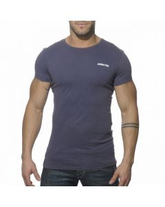 Addicted AD215 Vintage T-Shirt Navy Voorkant