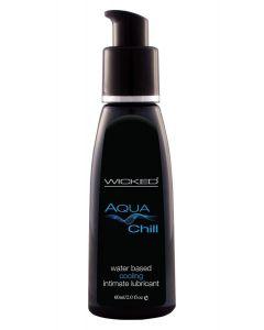 Aqua Chill Glijmiddel op Waterbasis - 60 ml