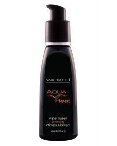 Aqua Heat Verwarmend Glijmiddel op Waterbasis - 60ml