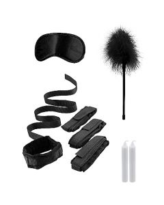 Bed Boeien BDSM Kit - Zwart