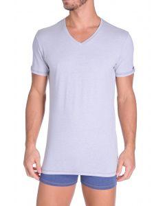 Diesel V-Shirt Michael Licht Grijs