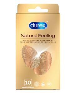 Durex Natural Feeling Latex Vrij 10 Stuks