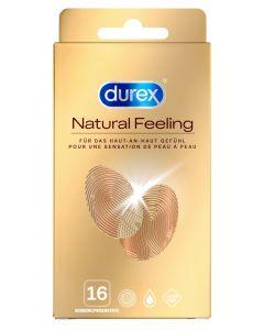 Durex Natural Feeling Latex Vrij 16 Stuks