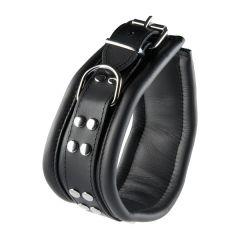Zwart Brede Halsband