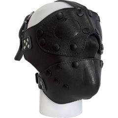 Mister B Lederen gezichtsmasker met verwisselbare ogen & mond