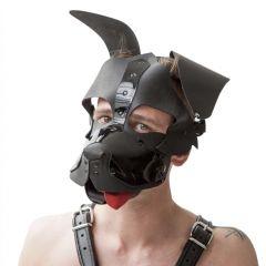 Mister B - Zwart Honden Masker Floppy