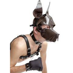 Mister B - Bruin honden masker Shaggy