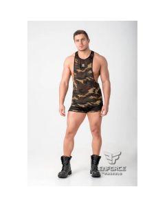 Maskulo Enforce Mesh Tank Top - Camouflage