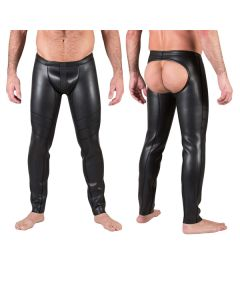Neo Open Ass Pants Black