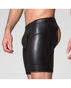 Neo Open Long Shorts Black zijkant