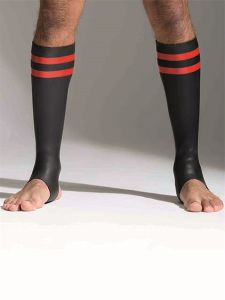 665 Leather - Neoprene Socks Tall