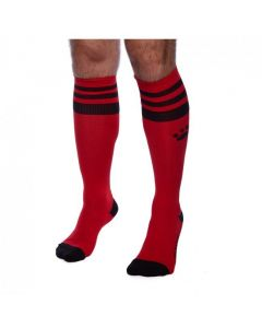 Prowler RED Football Sock Red/Black