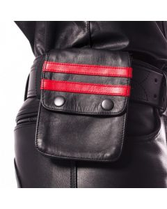 Prowler RED Leather Wallet Black / Red