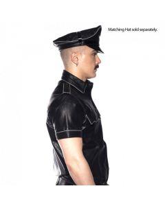 Prowler RED Politie Shirt Piped Zwart
