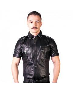 Prowler RED Slim Fit Police Shirt Black/Grey