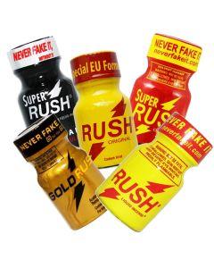 Rush Poppers Voordeelpack 5 flesjes 10ml