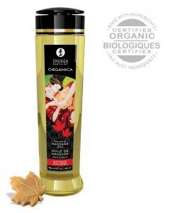 Shunga - Organica Massage Olie Maple Delight 240 ML*