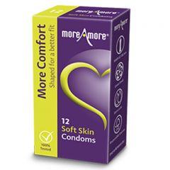 MoreAmore Soft Skin Condooms 12 st.