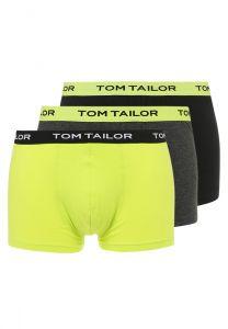 Tom Tailor Multipack Boxershorts Black-Lime-Grey